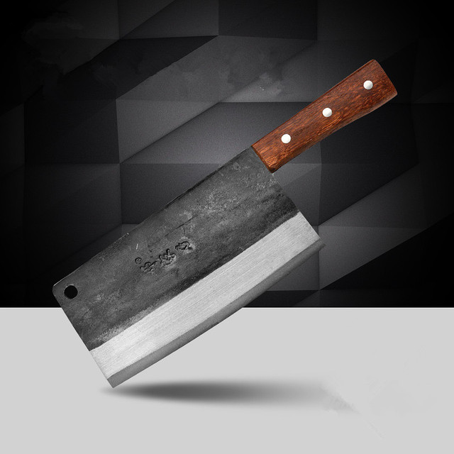 free shipping deng forged gotten traditional carbon steel knife rh aliexpress com carbon steel kitchen knives vs stainless carbon steel kitchen knives for sale