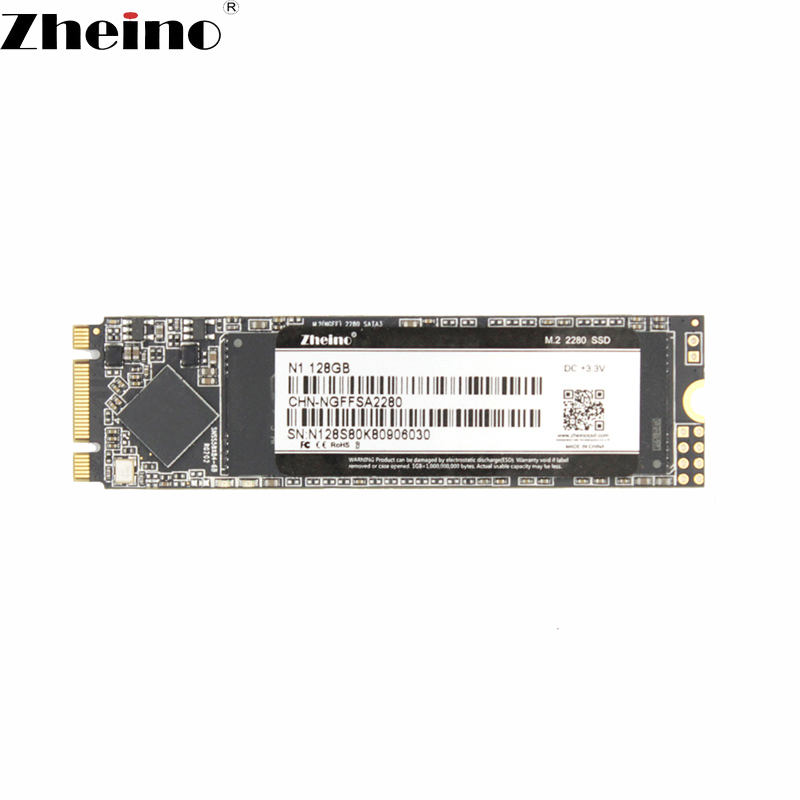 Zheino 2280 M.2 128GB NGFF SSD Internal Solid State Hard Drives For Desktop Laptop