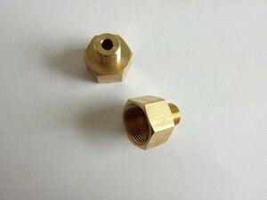 Image 2 - 100% kupferverbinder, adapter für auto waschschlauch oder gun Männlichen M14 * 1,5, weibliche M22 * 1,5