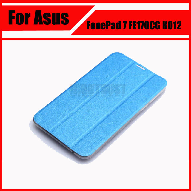 3 in 1 Wholesale Top Quality PU Leather Case Cover For Asus FonePad 7 FE170CG FE170 K012 + Screen Film + Stylus