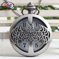 Halloween vampire bats cross watch special biochemical creative quartz pocket watch DS110