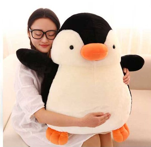 stuffed animal larggest penguin 68cm plush toy soft doll hugging pillow birthday gift b3000 hot 17cm janpanese animal plush toy alpaca vicugna pacos lama arpakasso alpacasso soft stuffed plush doll toy christmas gift