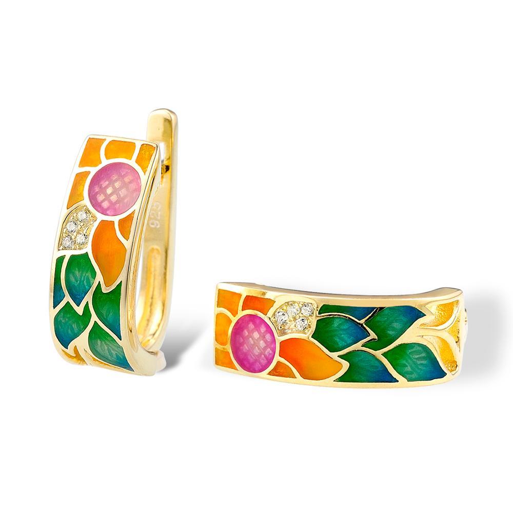 SANTUZZA ασημένια σκουλαρίκια για - Κοσμήματα μόδας - Φωτογραφία 4
