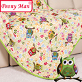 High Quality Flannel Baby Blanket 100*140 Kids Cartoon Super Soft Blankets Aircon Child Sheet Thick Warm Winter Fleece Cobertor