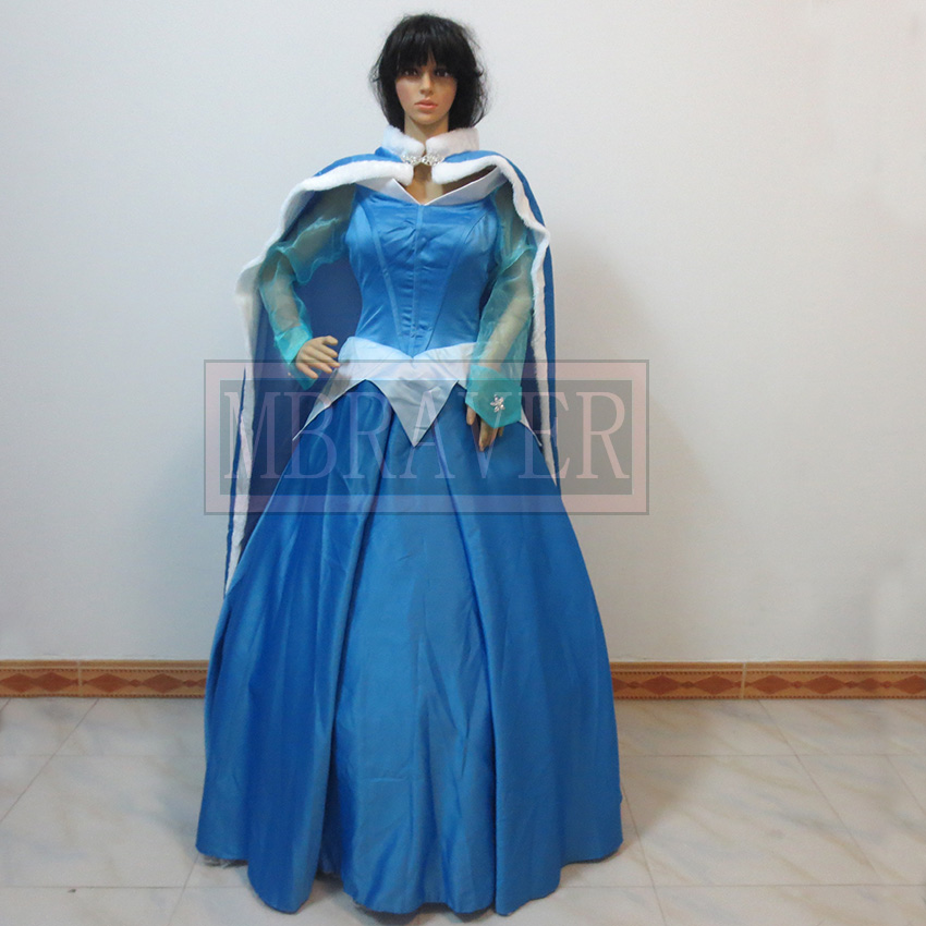 Custom made Princess aurora cosplay sleeping beauty Custom made Any Size