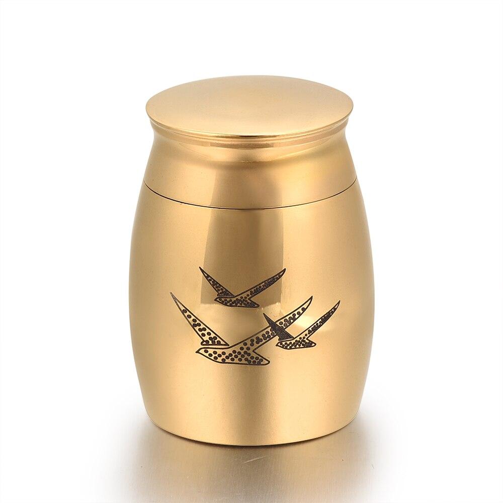 Mini Keepsake Funeral Urn- Cremation Urns for Human Ashes Adult or Infant / Pet - Hand Engraved