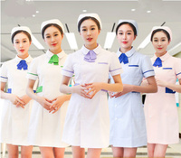 White Lab Coat Doctor Nurse Clothing Hospital Scientist School Fancy Dress Costume for Uniform Work Wear Adults
