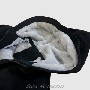 Image 4 - Winter Sweatshirt Australian Shepherd hoodie ICH WÜRDE Eher Hause Mit Meinem Aussie Hund Casual Männer Jacke Harajuku Streetwear