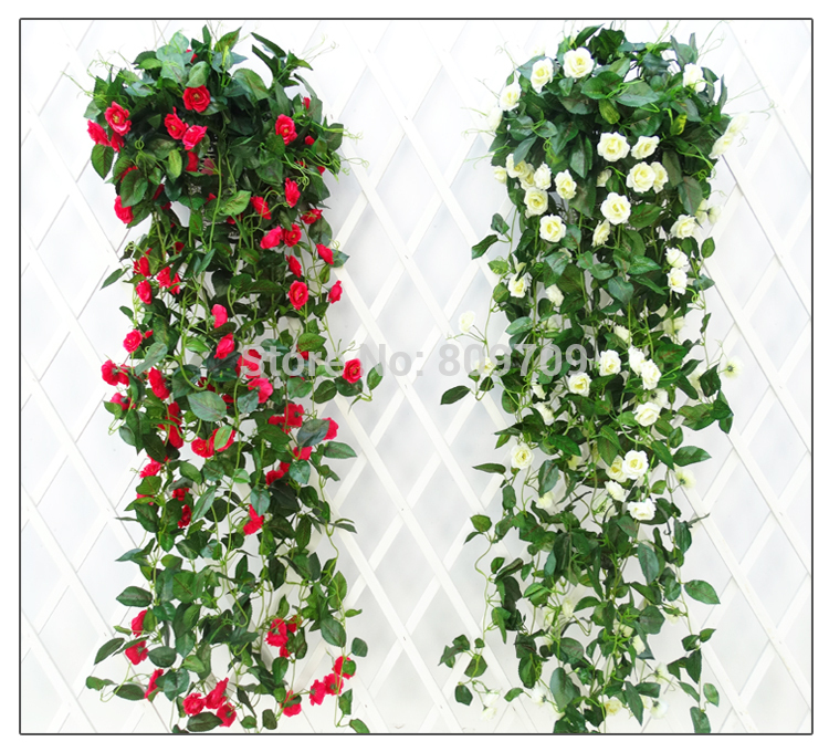 Cheapest Silk Flower Hanging Baskets : Popular hanging basket ivy buy cheap
