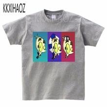 VeggieTales Larry The Cucumber Childrens Short Sleeve T-Shirt  boy,girl Tshirts print Tshirt summer 2019 Leisure time MJ