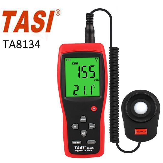 TA8134 Lux Meter Measuring Range 1~200.000lux  Light meter
