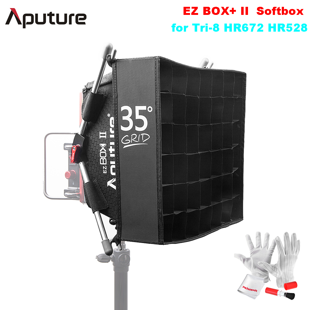 Aputure EZ BOX+ II Softbox Diffuser with Grip for Amaran Must-have Companion for Aputure Tri-8 HR672 HR528 Series LED LightAputure EZ BOX+ II Softbox Diffuser with Grip for Amaran Must-have Companion for Aputure Tri-8 HR672 HR528 Series LED Light