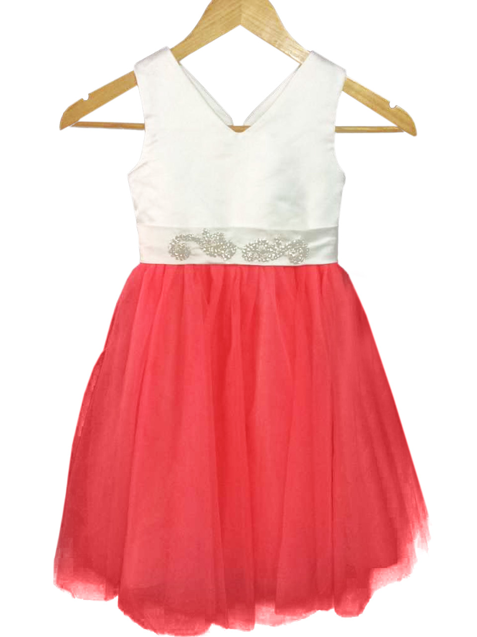 Sleeveless Knee-Length Flower Girls Dresses For Wedding Gown A-Line Kids Prom Dresses Tulle Mother Daughter Dresses With Sashes free shiping flower girls dresses for wedding gown ankle length kids evening gowns tulle mother daughter dresses with sashes