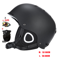 MS 86002 ABS EPS Ski Skiing Snowboard Skate Skateboard Veneer Helmet For Adult Men Women 22