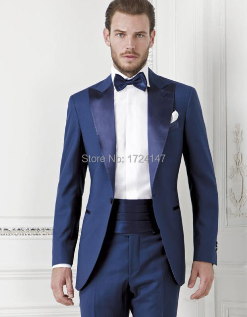 Aliexpress.com : Buy 2014 New Custom made Royal Blue men designer