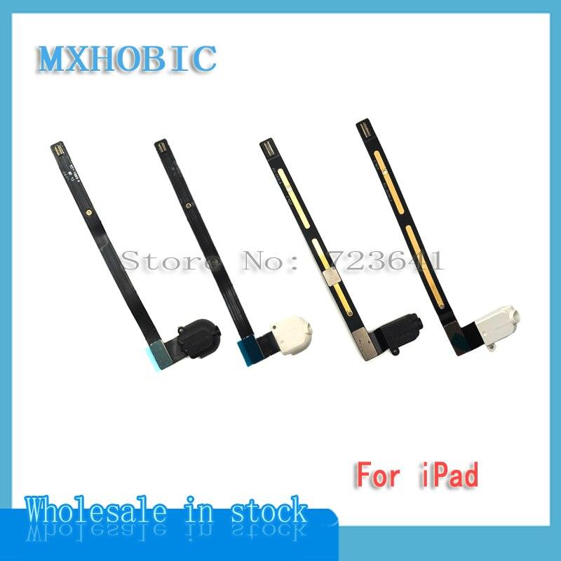 MXHOBIC Headphone-Jack 1-2-3-4-Replacement-Parts Flex-Cable Volume iPad for 5pcs/Lot
