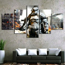 Star Wars Movie HD Print Canvas Printed Home 5 Pieces Poster Painting Wall Art Living Room Modern Decorative