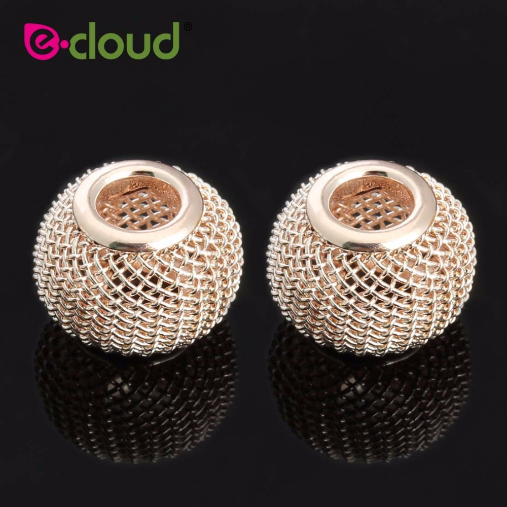 10 20pcs Fashion circular Hollow out Reticulate hair beads for braids DIY hair dreadlock accessories hair jewelry for braids in Links Rings Tubes from Hair Extensions Wigs