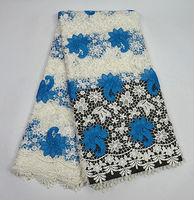 Item No.SPS232,top quality embroidered guipure lace fabric with beads,good looking African cord lace for lady dress!