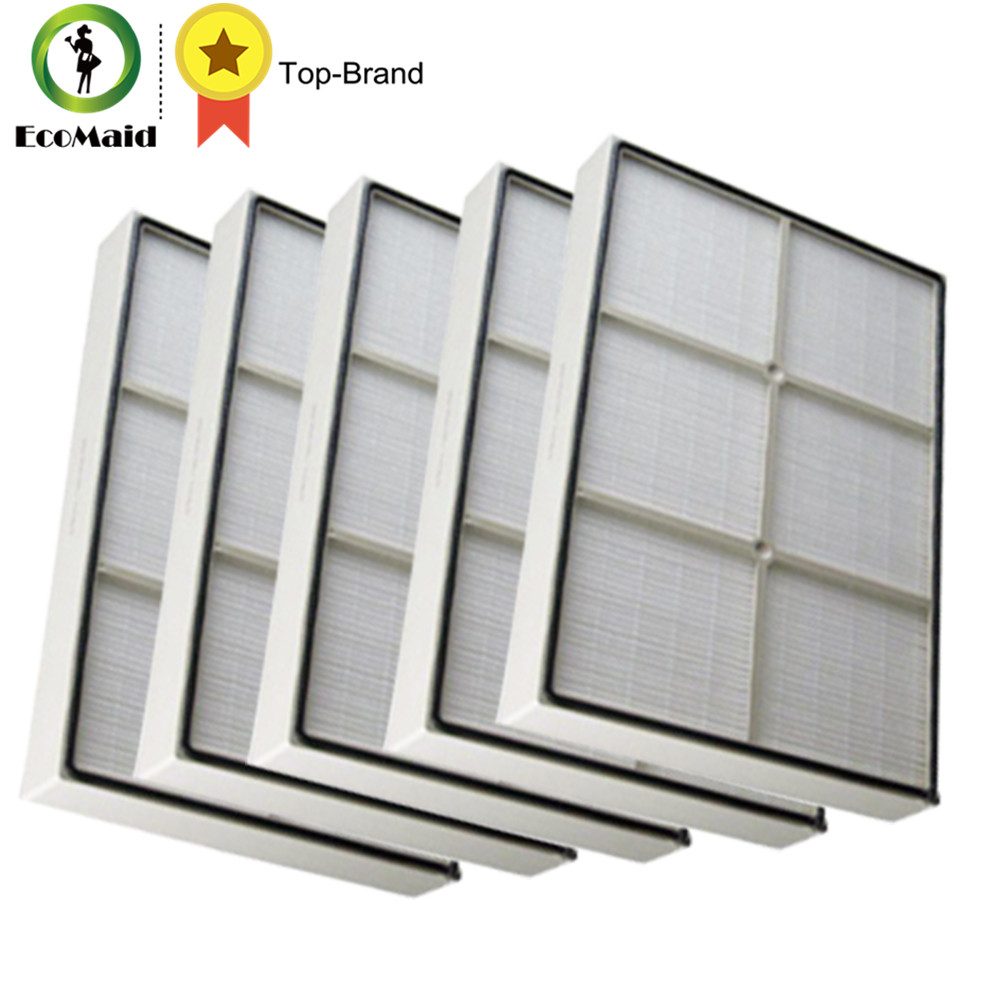 Filter for Whirlpool Air Purifier AP450 AP510 1183054K Replaces Filtration Air Cleaner Filter Fit Whirlpool Part 5 Packs adgar fit philips air purifier ac4090 filter 4181 4183 4184 filter