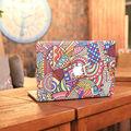 2 в 1 компл. Церковь Цветное Стекло Ноутбук Кожи Для Apple MacBook наклейка Air Pro Retina 11 13 15 Mac Случае Полного Покрытия Notebook стикер