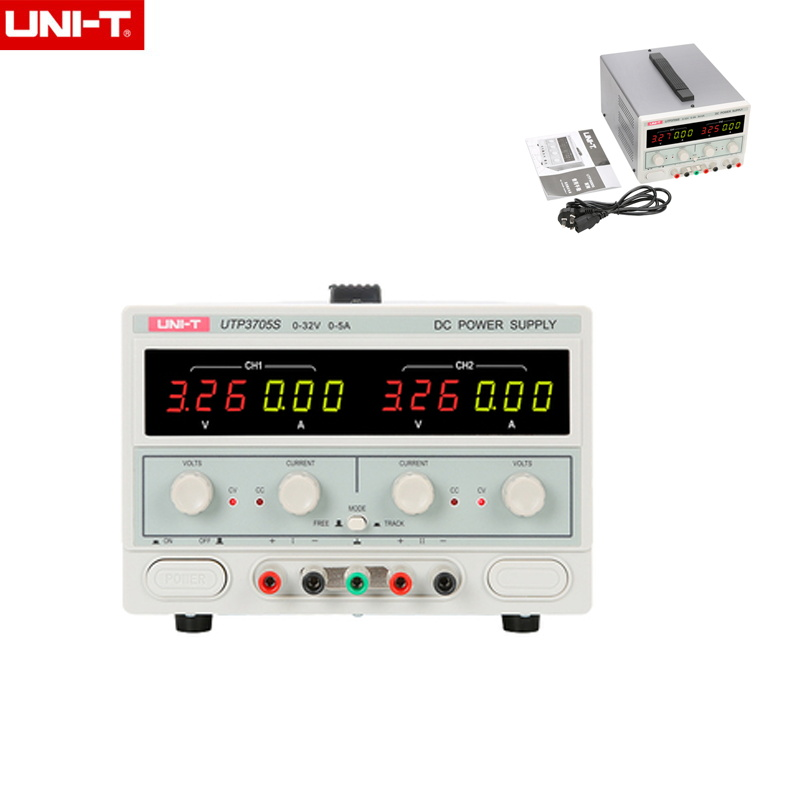 UNI-T UTP3704S/UTP3705S DC alimentation régulée sortie trois voies 32V 3A/5A protection automatique