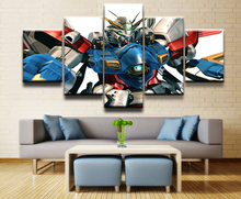 Painting Canvas Wall Art Picture Home Decoration Living Room GUNDAM animation Modern Decorative Artwork