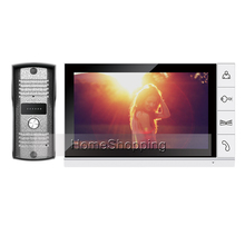 FREE SHIPPING Home Security 9 inch TFT LCD Monitor Video Door phone Intercom System With Night Vision Outdoor Camera IN STOCK