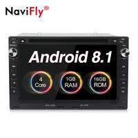 2 din Android 8.1 car multimedia dvd radio for Volkswagen PASSAT B5/MK5/BORA/POLO/MK3/MK4/GOLF/SHARAN/TRANSPORTER T4/T5/CHICO