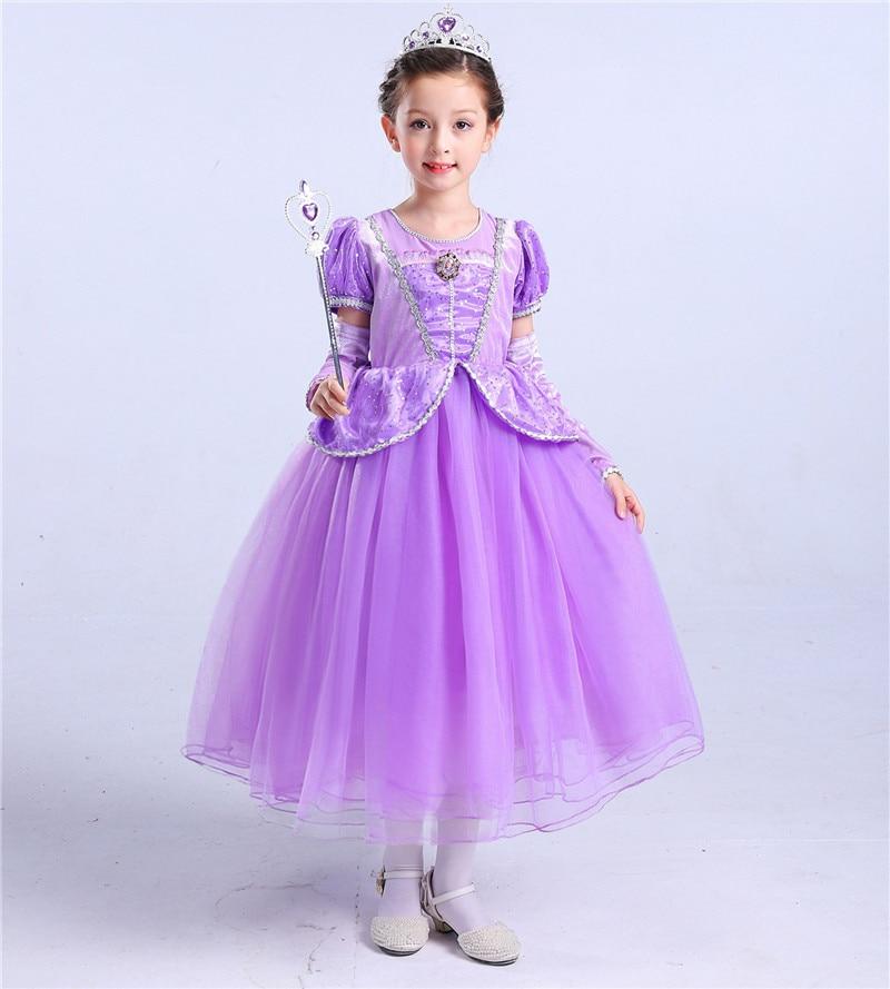 Vistoso Vestido De Partido De La Princesa Sofia Elaboración - Ideas ...
