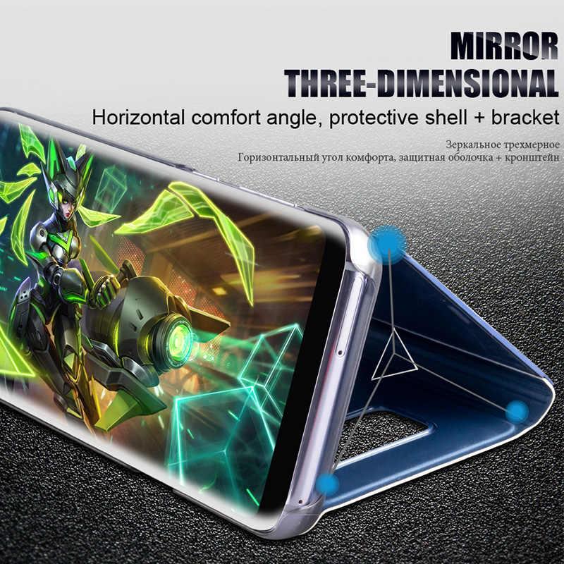 Luxury Flip Case For Xiaomi RedMi K20 Pro Mirror Leather Case For ReMi Note 7 Mi 9 8 SE Lite RedMi 5 Plus 6A Mi 9 6X 5X Go Play
