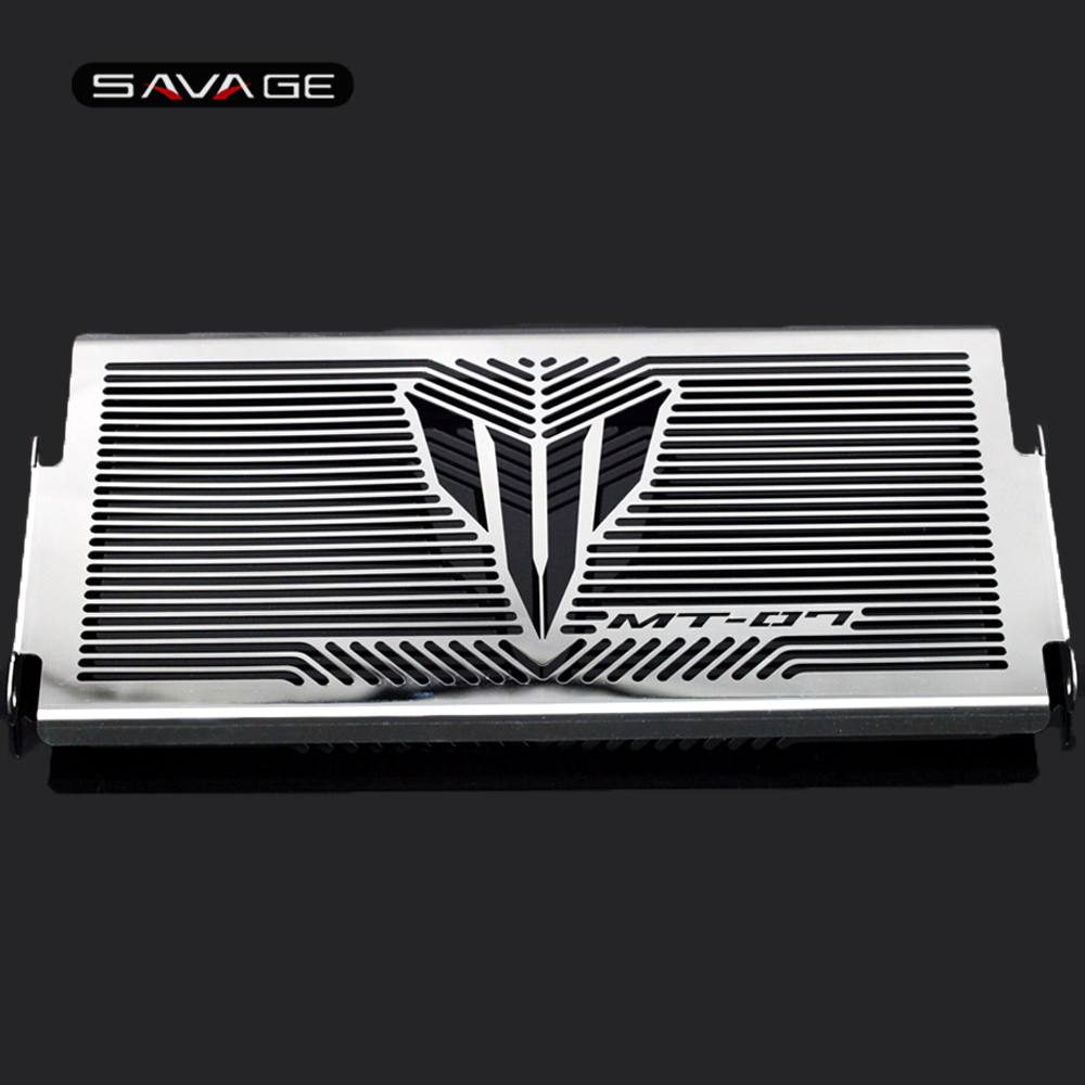 Radiator Grille Guard Cover For YAMAHA MT-07 FZ-07 MT07 Tracer XSR700 XSR 700 Motorcycle Accessories Fuel Tank Protector Net 5 colors motorcycle radiator bezel grill grille guard cover protector for yamaha mt07 mt 07 accessories free shipping