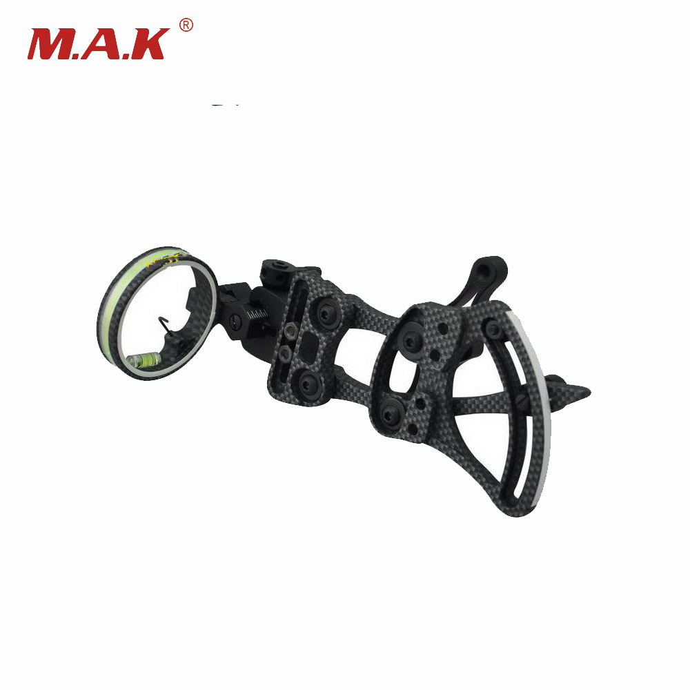 4 Color Compound Bow Sight 1 Pin 0.019 with Quickly Adjust Detachable Bracket TP9510-CAMO for Hunting Shooting Archery 4 color compound bow sight 1 pin 0 019 with quickly adjust detachable bracket tp9510 camo for hunting shooting archery