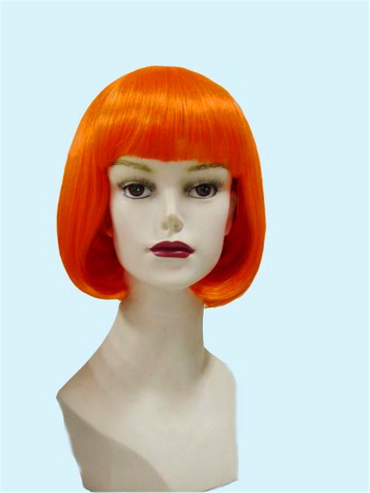 Fashionable Cosplay Wigs Bobo Foxy Wig 2014 New Arrival High Quality Colorful Synthetic Hair Wigs Hot Selling 032 free shipping green hair pokemon cosplay wigs