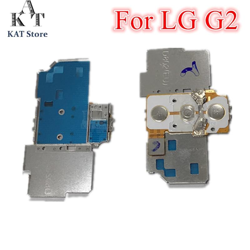 Aprensivo 5 Piezas De Alta Calidad Volumen/off Interruptor De Botón Conectores Cable Flex Del Teclado Para Lg Optimus G2 D800 D801 D802 D803