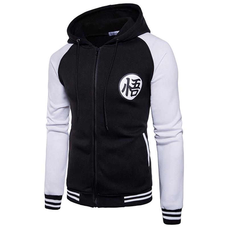 Hoodies Mens Autumn Hoody Men Dragon Ball Coat Casual Male Jacket Moleton Masculino Fashion Boy Hoodies Sweatshirt M-3xl #2