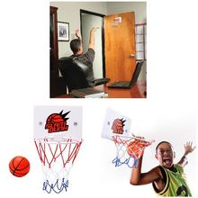 2019 Newly Children Kids Mini Basketball Hoop Toys Suck Wall-Mounted Stand with Pump Sport Toy Set 19ing