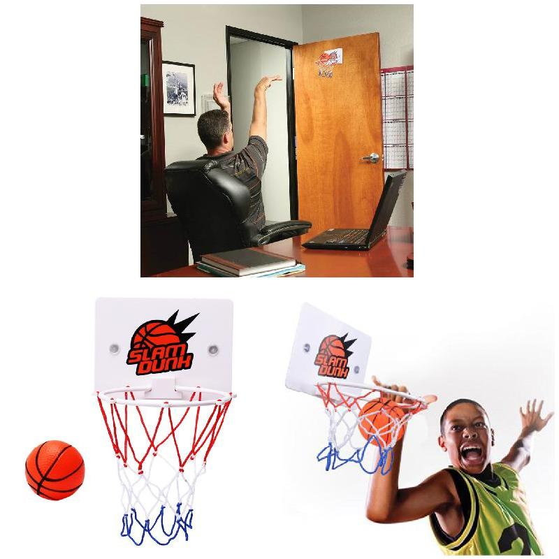 2020 Newly Children Kids Mini Basketball Hoop Toys Suck Wall-Mounted Stand With Pump Sport Toy Set 19ing