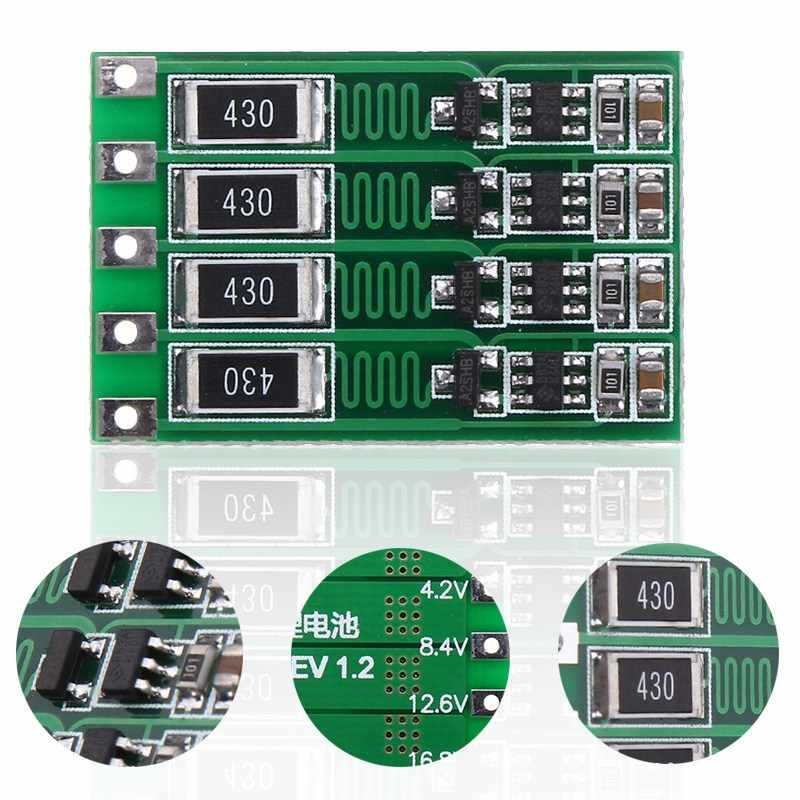 1 PC 4 S Li-ion batterie au Lithium 18650 chargeur PCB BMS carte de Protection Module Circuits intégrés