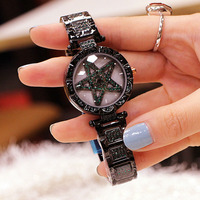 Fashion Watch Women Bracelet Watches Waterproof Stainless Steel Quartz Rhinestone Female Clock Ladies Wristwatch Gifts For Women