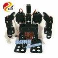 Official DOIT 9 DOF Humanoid Walking Robot /Aluminium Alloy Servo Bracket for Control/Robot Part Robot Arm/Hand/Manipulator