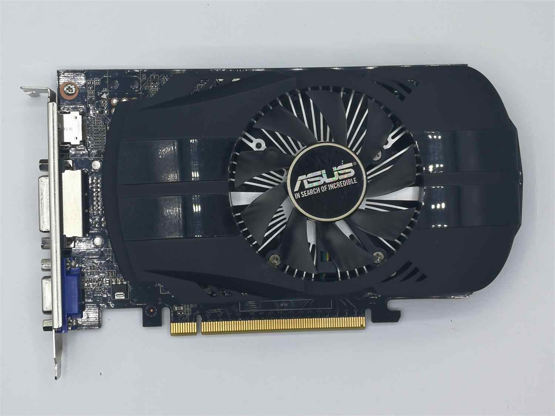 Se original ASUS GTX 750 2G GDDR5 128bit HD tarjeta gráfica con HDMI DVI puerto VGA, 100% probado bueno.