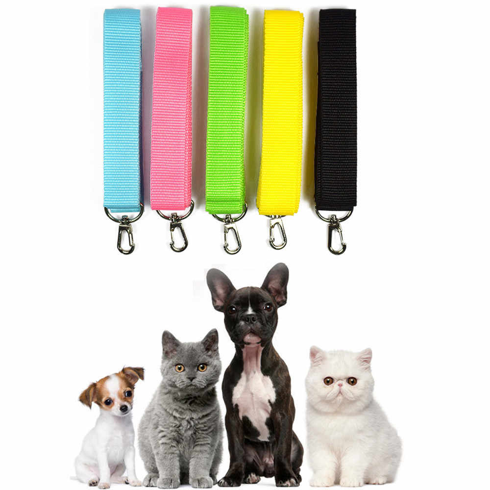 Pet Walking Training Leash Rope Safety Collar Lead Strap Belt Chain Nylon Traction Harness 1.2M For Dogs Cats BTTF @01
