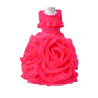 A Generation Of Fat Girls Big Flower Princess Wedding Dress Skirt Flower Girl Dress