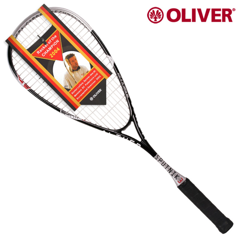 все цены на Oliver Squash Racket with High Rigid Titanium Carbon Fibre Squash racquet With string Metacarbon with a bag онлайн