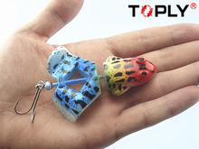 8 Color Fishing Frog Lure Saltwater Bait Tackle Crazy Fish Lures For Fishing 24g