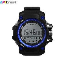 Epicfeat IP68 водонепроницаемый сердечного ритма Smart Браслет плавательный световой bluetooth шагомер калорий силиконовые спортивные F2