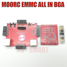 2021 أحدث تحديث Moorc eMMC ISP محول E MATE 3 في 1 لـ Riff Z3X Easy Jtag ATF Medusa Pro UFI BOX