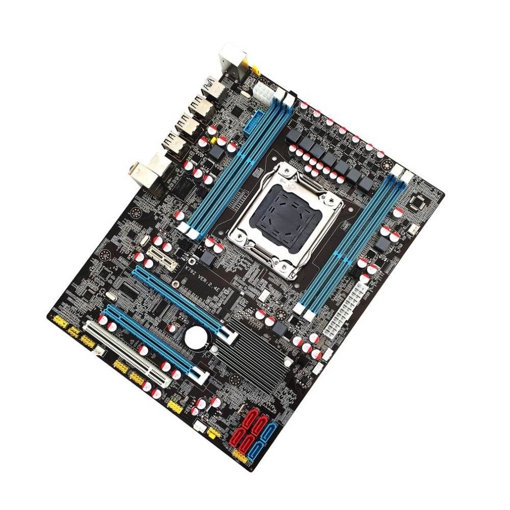 Intel X79 placa base CPU RAM LGA2011 REG ECC C2 Memory32G DDR3 4 CANALES DE APOYO E5-2670 I7 seis y ocho Core CPU