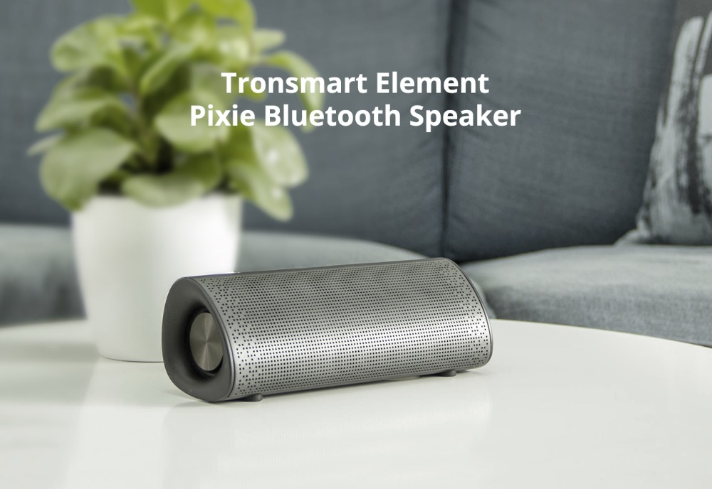 1Tronsmart Element Pixie Bluetooth Speaker TWS Soundbar Portable Speaker Subwoofer Speakers Double Passive 20W Wireless Speaker